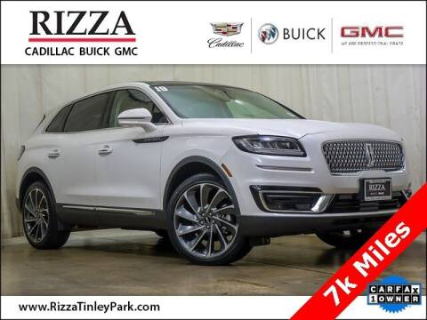 2019 Lincoln Nautilus for sale at Rizza Buick GMC Cadillac in Tinley Park IL