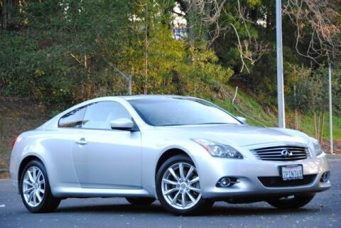 2012 Infiniti G37 Coupe for sale at VSTAR in Walnut Creek CA