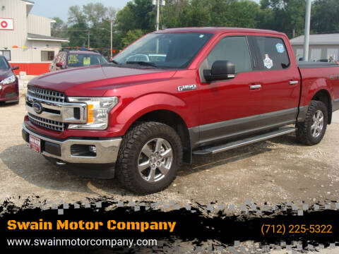 2019 Ford F-150 for sale at Swain Motor Company in Cherokee IA