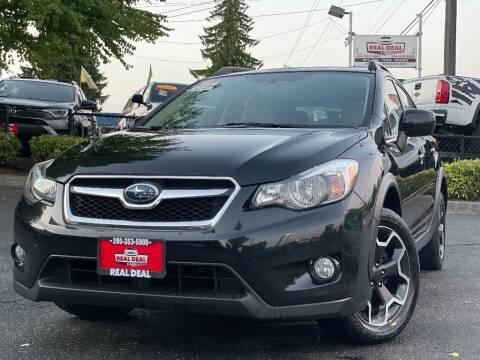 2014 Subaru XV Crosstrek for sale at Real Deal Cars in Everett WA