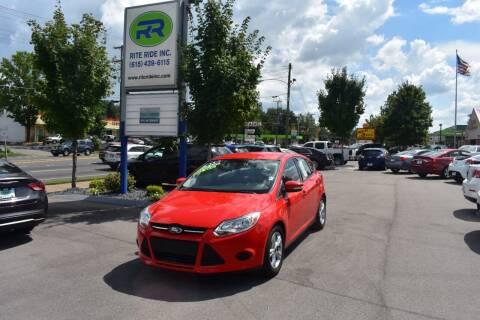 2013 Ford Focus for sale at Rite Ride Inc in Murfreesboro TN