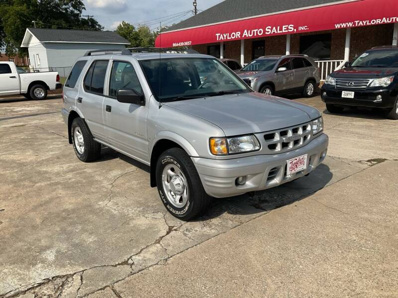 2001 Isuzu Rodeo for sale at Taylor Auto Sales Inc in Lyman SC