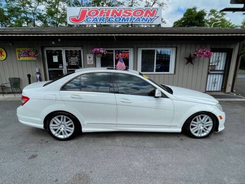 2009 Mercedes-Benz C-Class for sale at Johnson Car Company llc in Crown Point IN