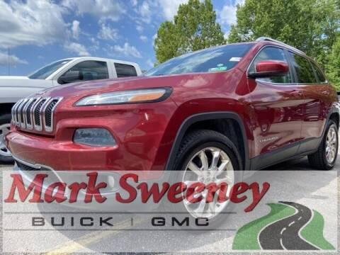 2014 Jeep Cherokee for sale at Mark Sweeney Buick GMC in Cincinnati OH