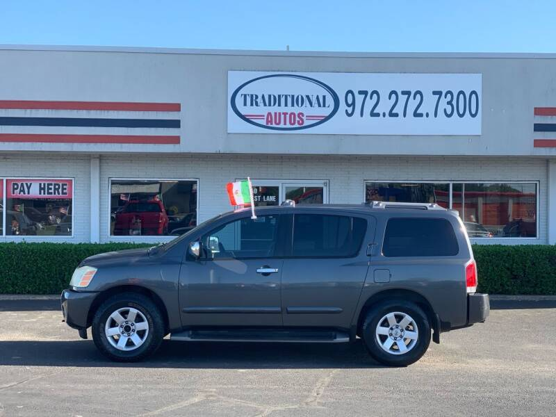 2004 Nissan Armada for sale at Traditional Autos in Dallas TX