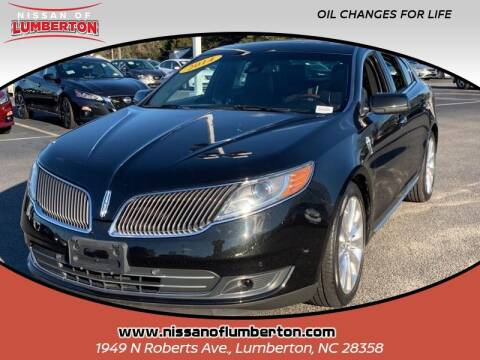 2014 Lincoln MKS for sale at Nissan of Lumberton in Lumberton NC