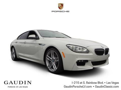 2015 BMW 6 Series for sale at Gaudin Porsche in Las Vegas NV