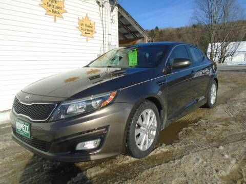 2014 Kia Optima for sale at Wimett Trading Company in Leicester VT