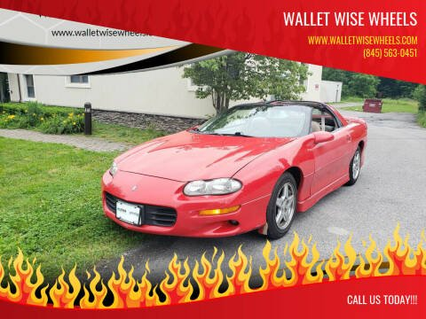 1998 Chevrolet Camaro for sale at Wallet Wise Wheels in Montgomery NY