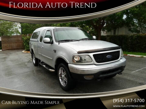 2001 Ford F-150 for sale at Florida Auto Trend in Plantation FL
