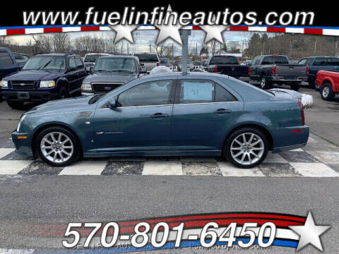 2006 Cadillac STS-V for sale at FUELIN FINE AUTO SALES INC in Saylorsburg PA