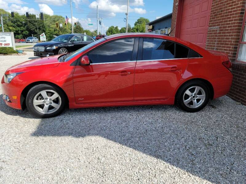 2012 Chevrolet Cruze for sale at DANVILLE AUTO SALES in Danville IN