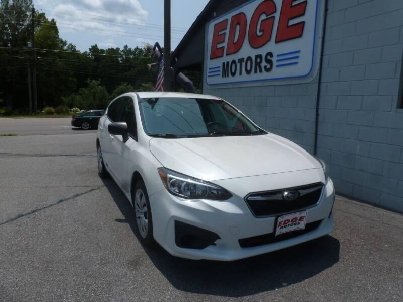 2018 Subaru Impreza for sale at Edge Motors in Mooresville NC