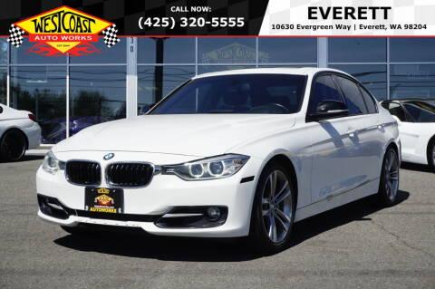2012 BMW 3 Series for sale at West Coast Auto Works in Edmonds WA