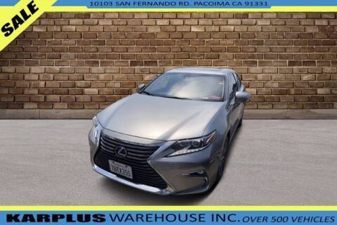2017 Lexus ES 300h for sale at Karplus Warehouse in Pacoima CA