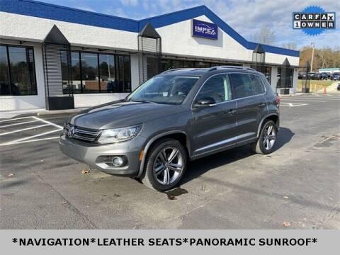 2017 Volkswagen Tiguan for sale at Impex Auto Sales in Greensboro NC