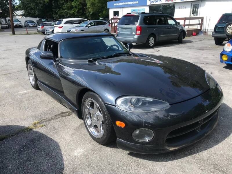 1996 Dodge Viper for sale at AFFORDABLE IMPORTS in New Hampton NY