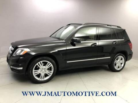 2014 Mercedes-Benz GLK for sale at J & M Automotive in Naugatuck CT