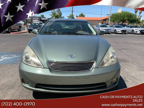 2005 Lexus ES 330 for sale at CASH OR PAYMENTS AUTO SALES in Las Vegas NV