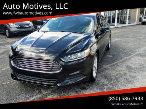 2013 Ford Fusion for sale at Auto Motives, LLC in Fort Walton Beach FL