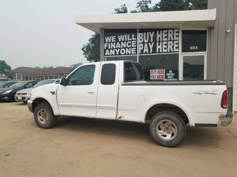 2002 Ford F-150 for sale at STERLING MOTORS in Watertown SD