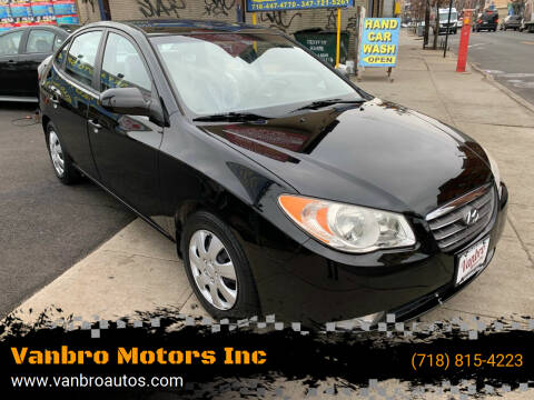 2009 Hyundai Elantra for sale at Vanbro Motors Inc in Staten Island NY