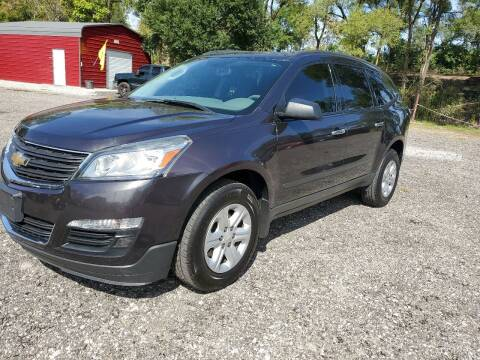 2015 Chevrolet Traverse for sale at Johnsons Car Sales in Richmond IN