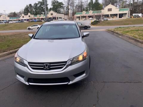 2013 Honda Accord for sale at BRAVA AUTO BROKERS LLC in Clarkston GA