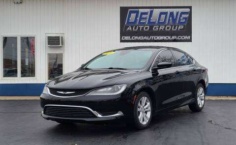 2016 Chrysler 200 for sale at DeLong Auto Group in Tipton IN