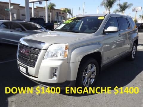 2012 GMC Terrain for sale at PACIFICO AUTO SALES in Santa Ana CA