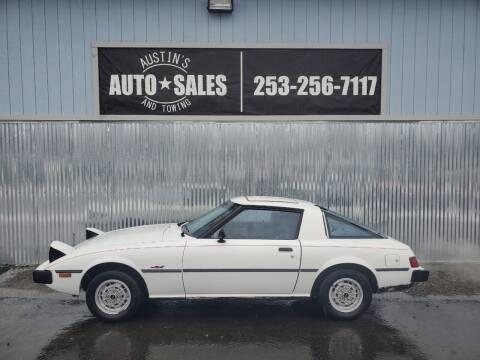 1979 Mazda RX-7 for sale at Austin's Auto Sales in Edgewood WA