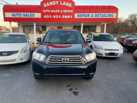 2009 Toyota Highlander for sale at Sandy Lane Auto Sales and Repair in Warwick RI