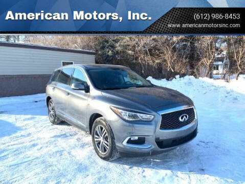 2020 Infiniti QX60 for sale at American Motors, Inc. in Farmington MN