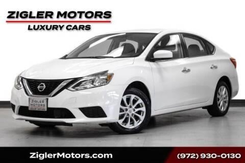 2018 Nissan Sentra for sale at Zigler Motors in Addison TX