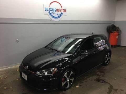 2017 Volkswagen Golf GTI for sale at WCG Enterprises in Holliston MA