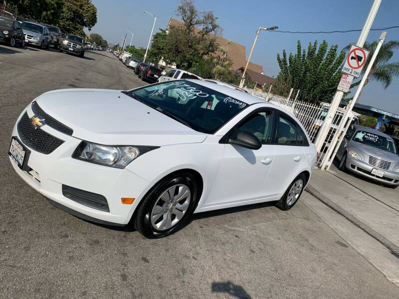 2014 Chevrolet Cruze for sale at Olympic Motors in Los Angeles CA