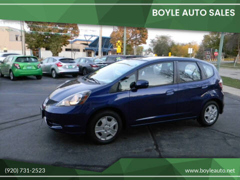 2013 Honda Fit for sale at Boyle Auto Sales in Appleton WI