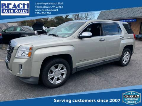 2013 GMC Terrain for sale at Beach Auto Sales in Virginia Beach VA