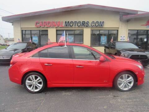 2015 Chevrolet Cruze for sale at Cardinal Motors in Fairfield OH