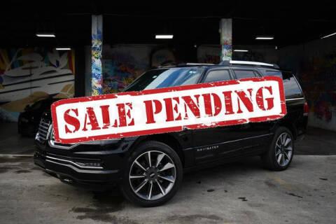 2016 Lincoln Navigator for sale at ELITE MOTOR CARS OF MIAMI in Miami FL