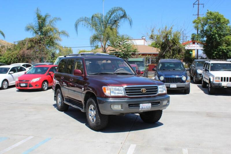 2001 Toyota Land Cruiser for sale at Car 1234 inc in El Cajon CA