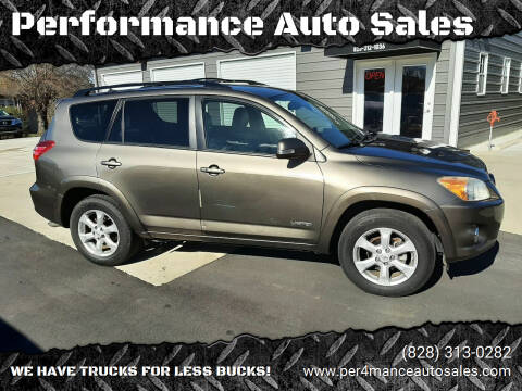 2010 Toyota RAV4 for sale at Performance Auto Sales in Hickory NC