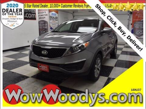 2016 Kia Sportage for sale at WOODY'S AUTOMOTIVE GROUP in Chillicothe MO