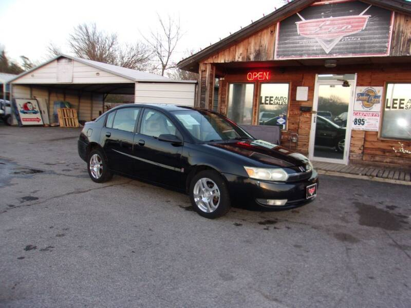 2004 Saturn Ion for sale at LEE AUTO SALES in McAlester OK