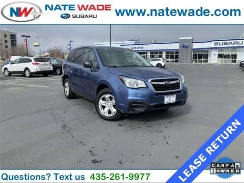 2017 Subaru Forester for sale at NATE WADE SUBARU in Salt Lake City UT