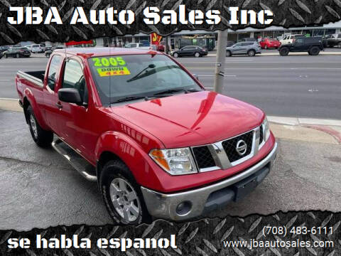 2005 Nissan Frontier for sale at JBA Auto Sales Inc in Stone Park IL