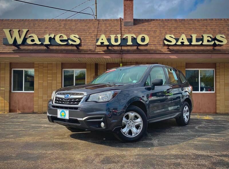 2017 Subaru Forester for sale at Wares Auto Sales INC in Traverse City MI