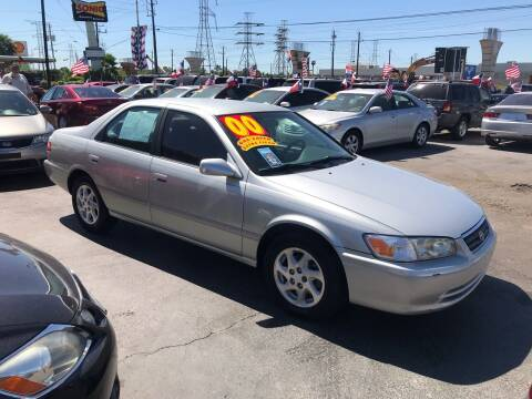 2000 Toyota Camry for sale at Texas 1 Auto Finance in Kemah TX