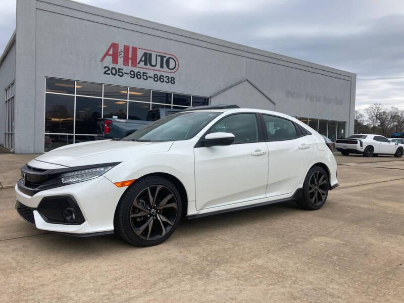 2018 Honda Civic for sale at A & H Auto Sales in Clanton AL