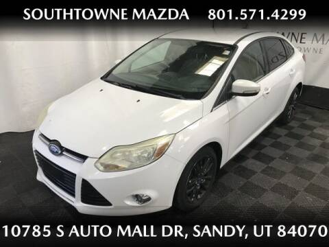 2012 Ford Focus for sale at Southtowne Mazda of Sandy in Sandy UT